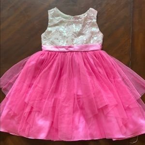 Rare Editions Girls formal dress sz 4t